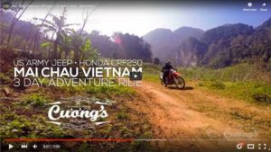 Mai Chau 3 day adventure ride