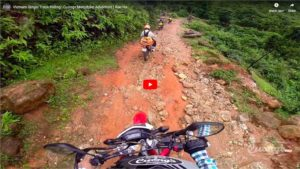 Vietnam Single Track riding