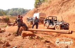 Laos Ho Chi Minh Trail Jeep Tour