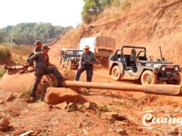Laos Ho Chi Minh Trail Jeep Tour