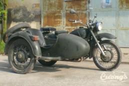 Ural 650 Sidecar motorbike