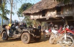 Mai Chau - Pu Luong motorbike Jeep tour