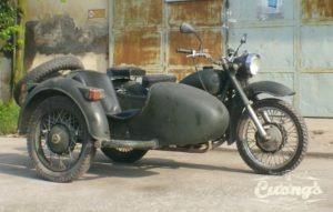 Ural 650 M72 Sidecar
