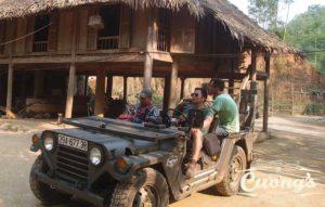 Laos Ho Chi Minh Trail US Army Jeep