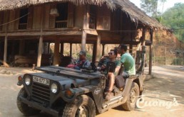 Laos Ho Chi Minh Trail US Army Jeep