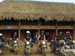 Motorbike set departures
