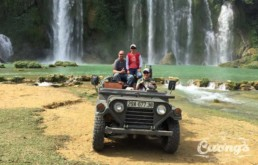 Ban Gioc Ba Be Jeep Tour