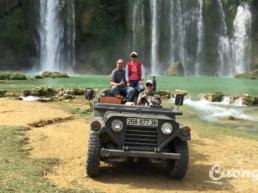 Ban Gioc Ba Be Jeep Tour