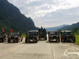 Ho Chi Minh Trail Jeep
