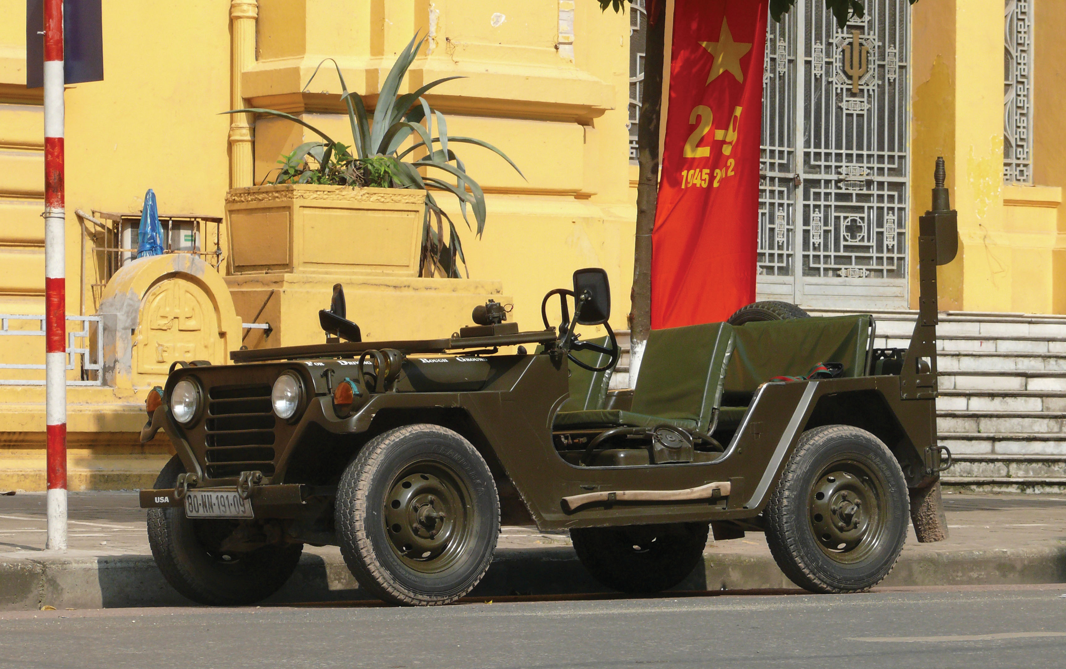 US Army Jeep MUTT: M151A2