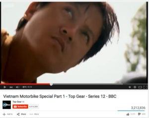 Cuong in Top Gear Vietnam Special