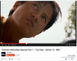 Cuong in Top Gear Vietnam Special