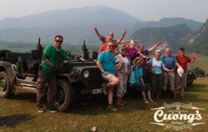 Tet 2020 Family Jeep tour