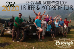 Tet 2020 Family Jeep and Motorbike tour